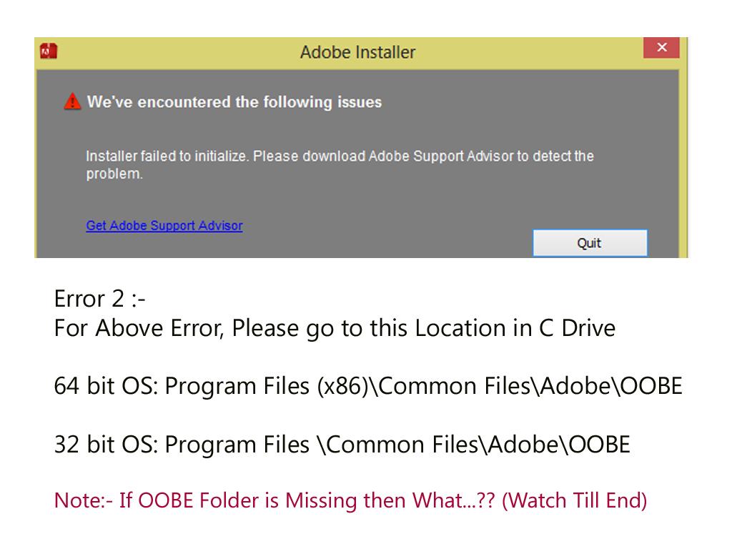 Explore the World: Adobe Ae Errors