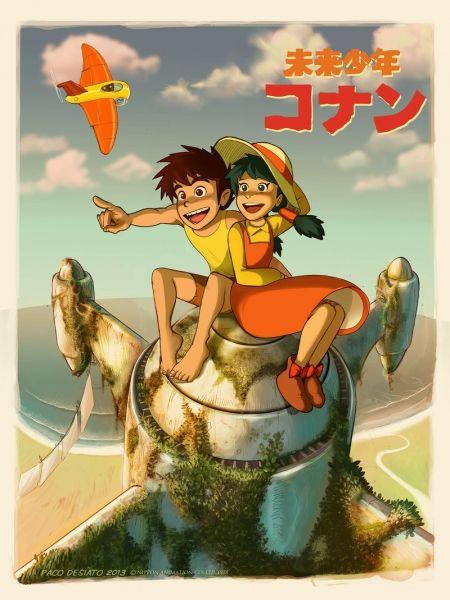 Conan Cậu Bé Tương Lai - Future Boy Conan VietSub (2013)