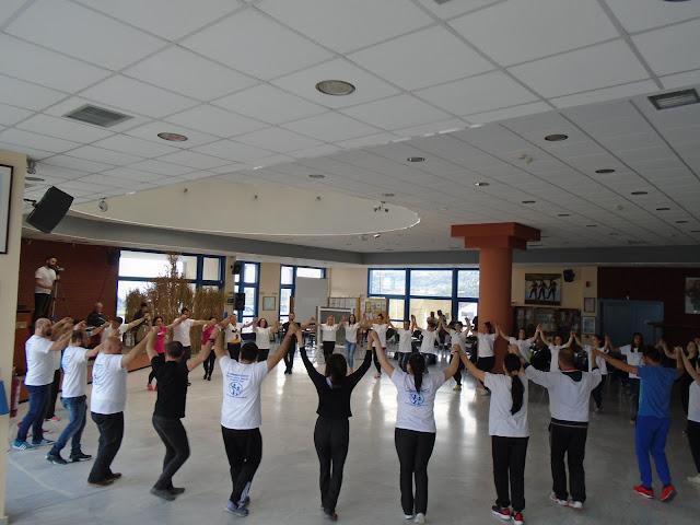 Μεγάλη επιτυχία σημείωσε το 2ο σεμινάριο παραδοσιακών χορών στην Ε.Λ.Β.