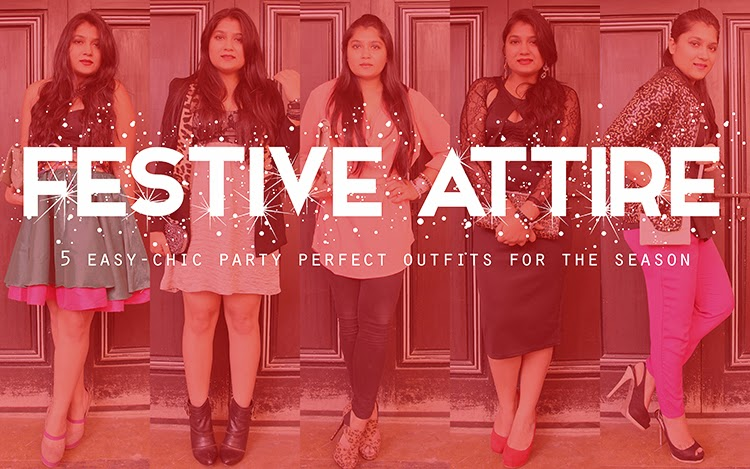 Festive Attire | 5 easy-chic party perfect looks for the season