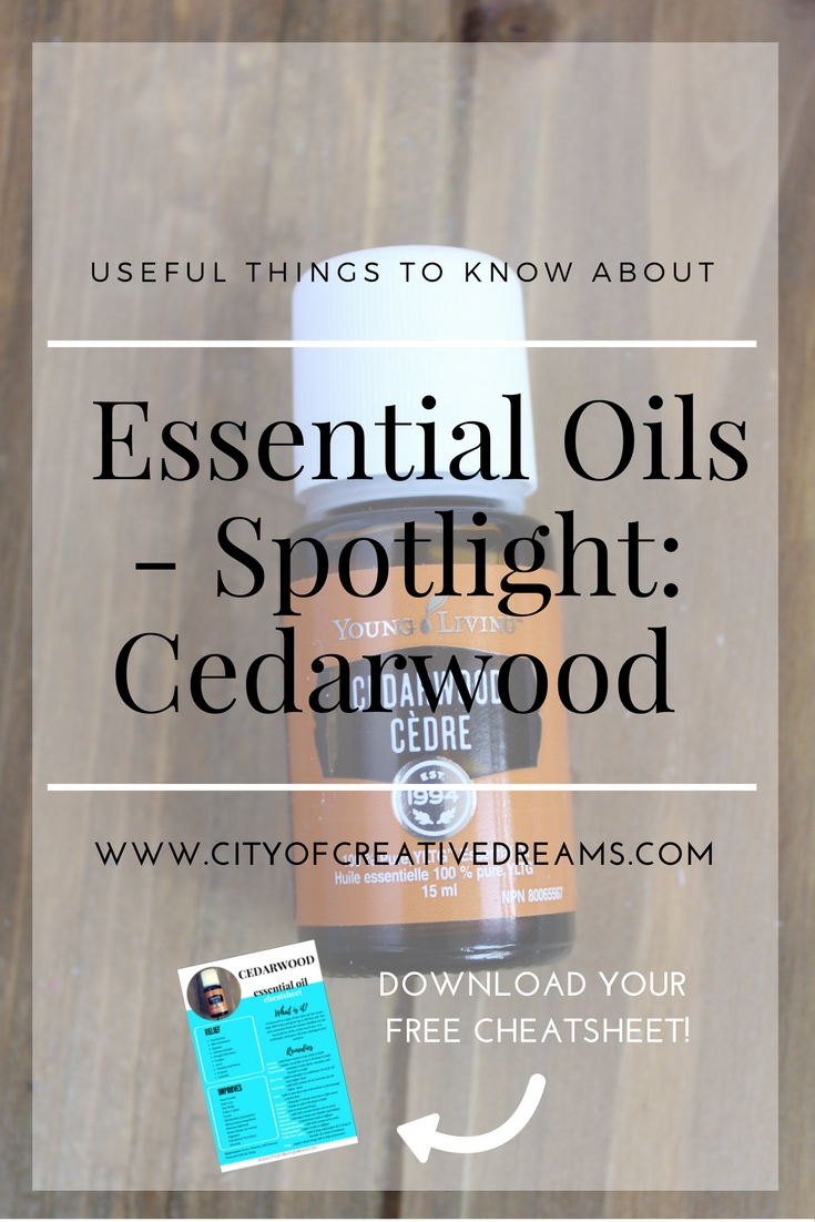 Useful Things to Know About Essential Oils - Spotlight: Cedarwood | City of Creative Dreams