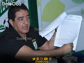 Carlos Pontons dirigente de Oriente Petrolero - DaleOoo