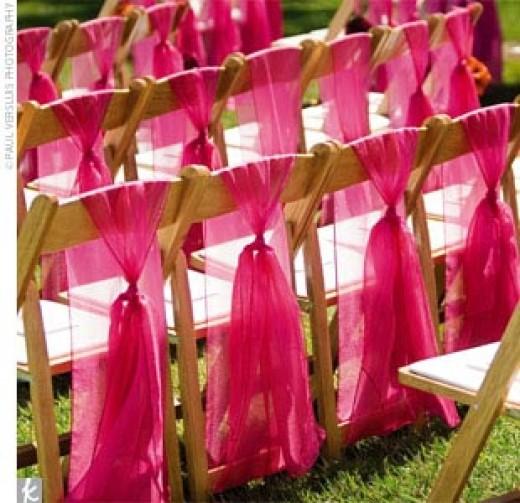 Wedding Decorations Wedding Chair Decoration Ideas