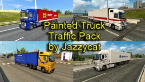 Jazzycat – Painted Truck Traffic Pack 5.2