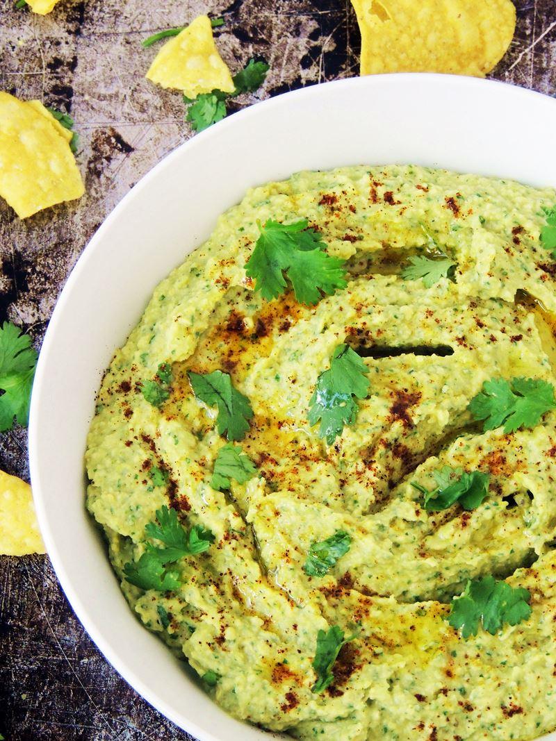 Roasted Jalapeño Hummus from www.bobbiskozykitchen.com