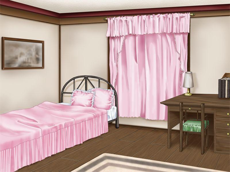 Anime Landscape Bedroom Anime Background