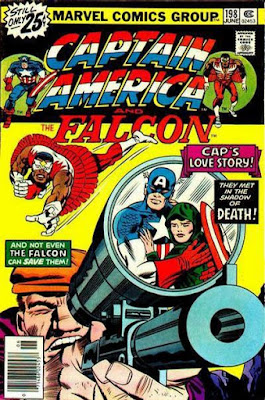 Captain America and the Falcon #198