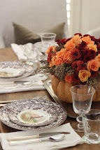 Thanksgiving Table Centerpiece Flowers