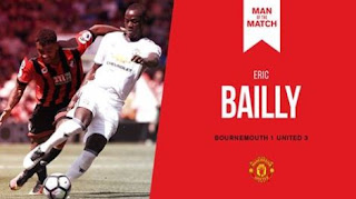 Bailly Man of The Match Bournemouth vs Manchester United
