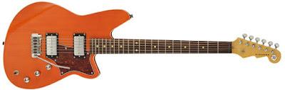 guitare baryton Reverend decend