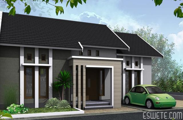 10 Gambar Desain Rumah  Minimalis Type  70  Inspirasi Dekor