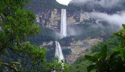 Air Terjun Gocta Cataracts, Peru