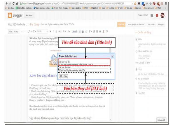 Hình Ảnh Blogger Chuẩn SEO - Dễ Hay Khó?