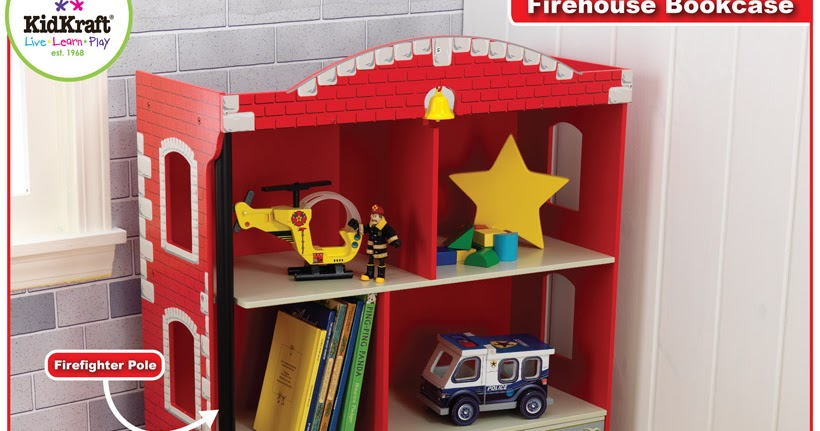 Fire Engine Bookcase
