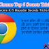 Google Chrome Top 5 Secrets Tricks 2016 In Hindi