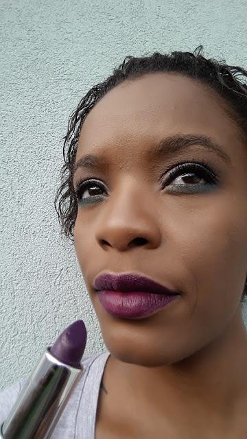 Sacha Cosmetics Intense Matte Lipstick 'Dem Trini Girlz' swatch www.modenmakeup.com
