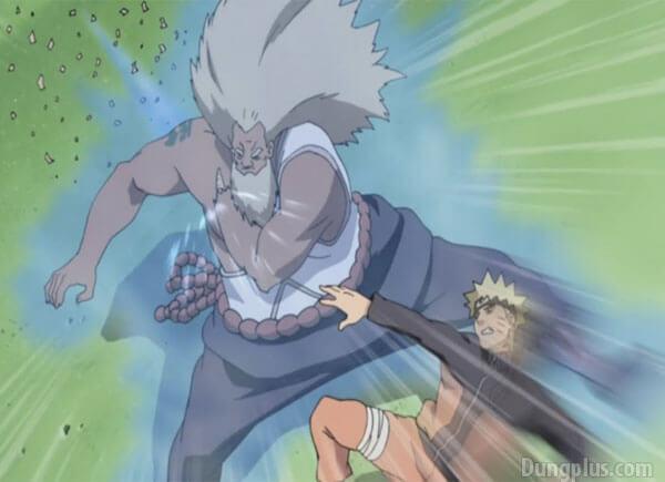 Trận chiến giữa Naruto với Raikage ( Đệ Tam)