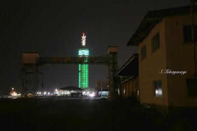 秋田港とセリオン