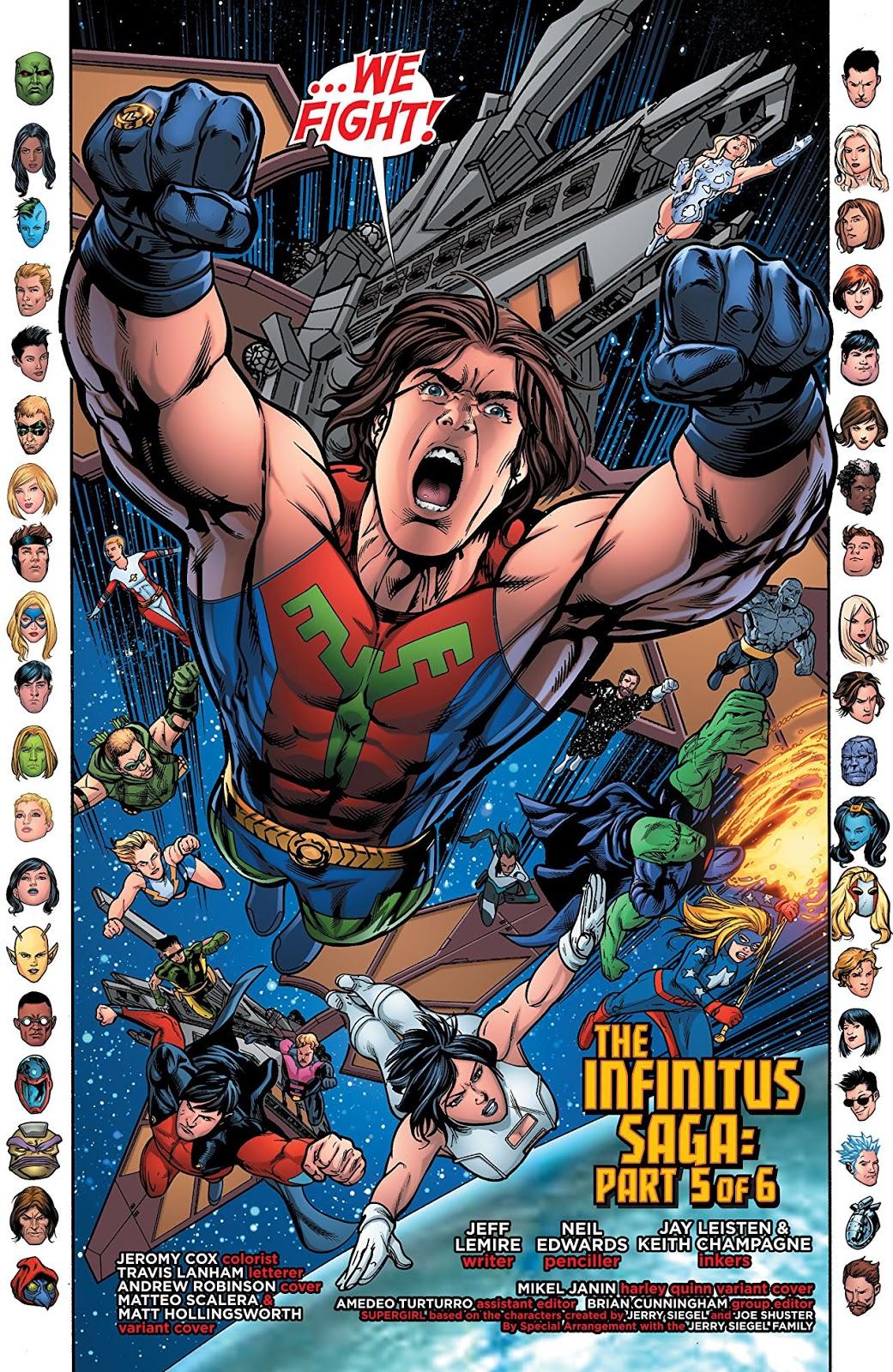 Justice League United Vol 2: The Infinitus Saga | Comic Book