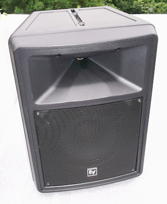 Image of Electro Voice EV sx80 speaker front view