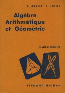 Arithmétique Algèbre Et Géométrie Classe De Quatrième de ...