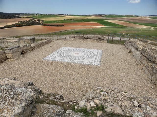 Casa del Procurador de Segóbriga, mosaico romano