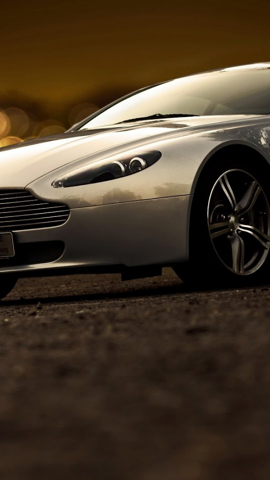 Aston Martin V8 Vantage  Galaxy Note HD Wallpaper