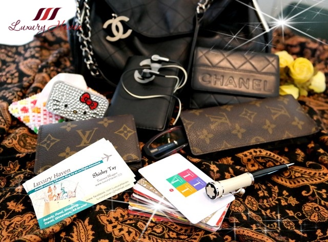 luxury haven lifestyle influencer designer bags chanel lv
