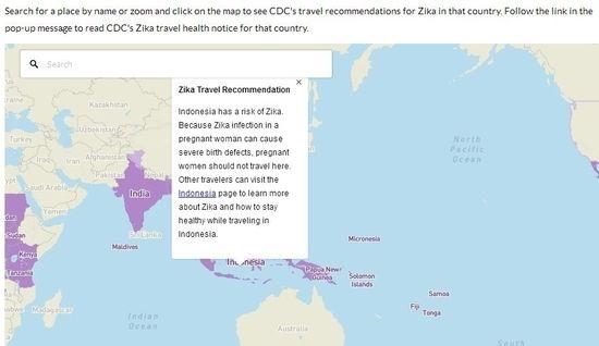 Negara Beresiko Virus Zika