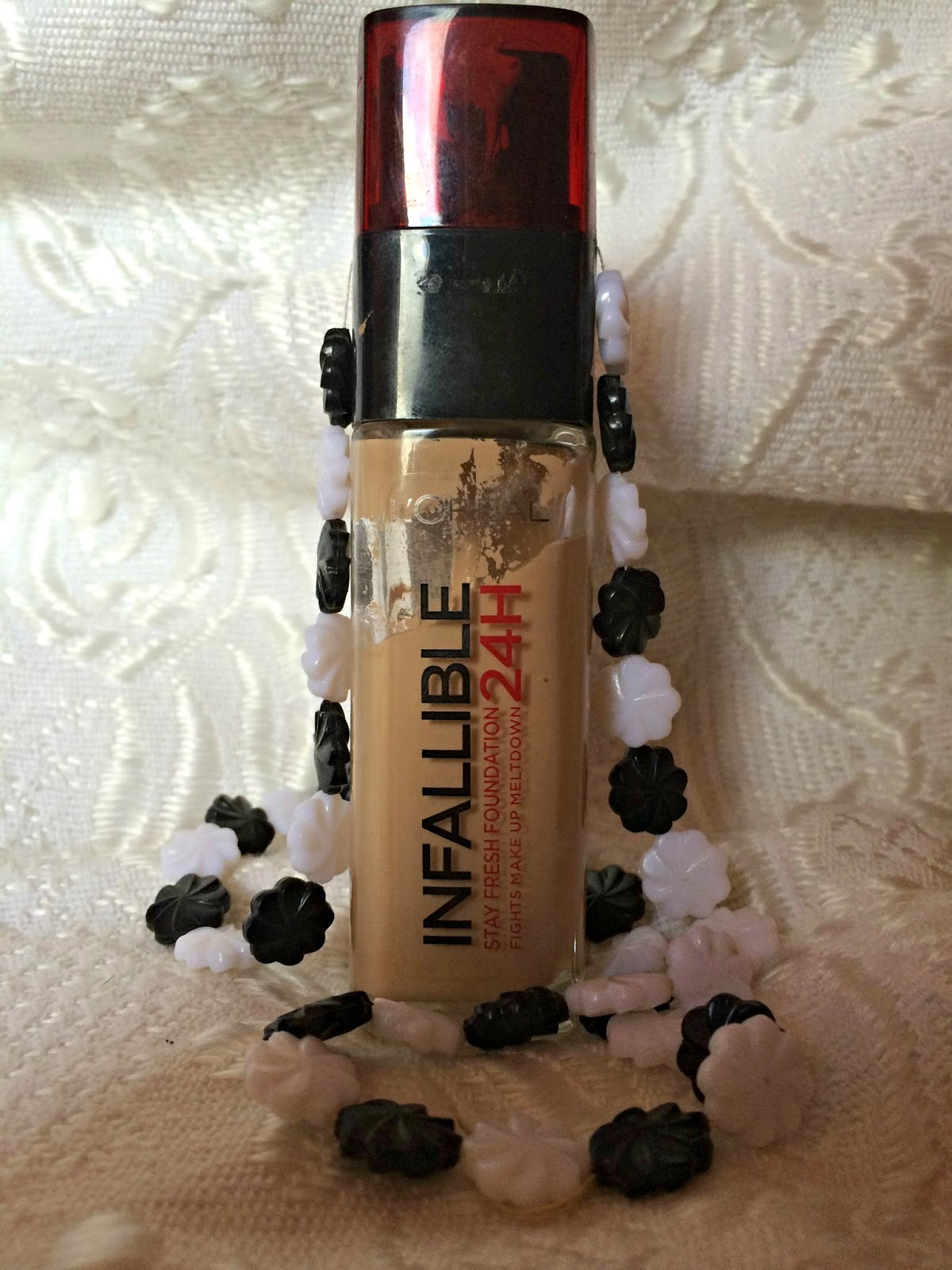 review infallible foundation by loreal bubblybeauty135