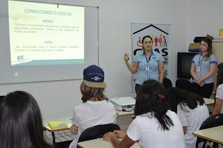 Jovens de Siderópolis passam por processo de orientação profissional