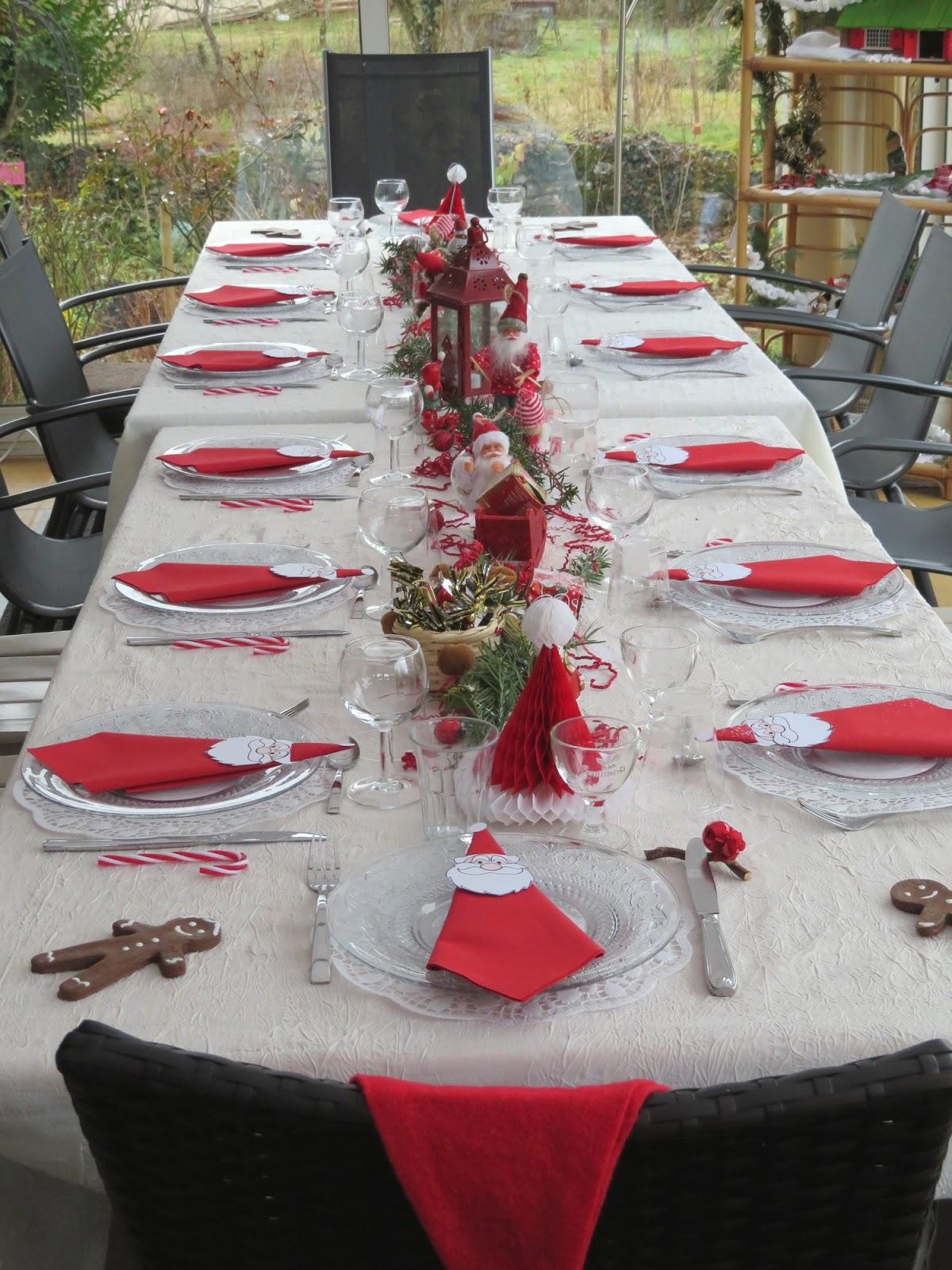 Mes motsdoubs ma table p re no l - Grand pere noel decoration ...