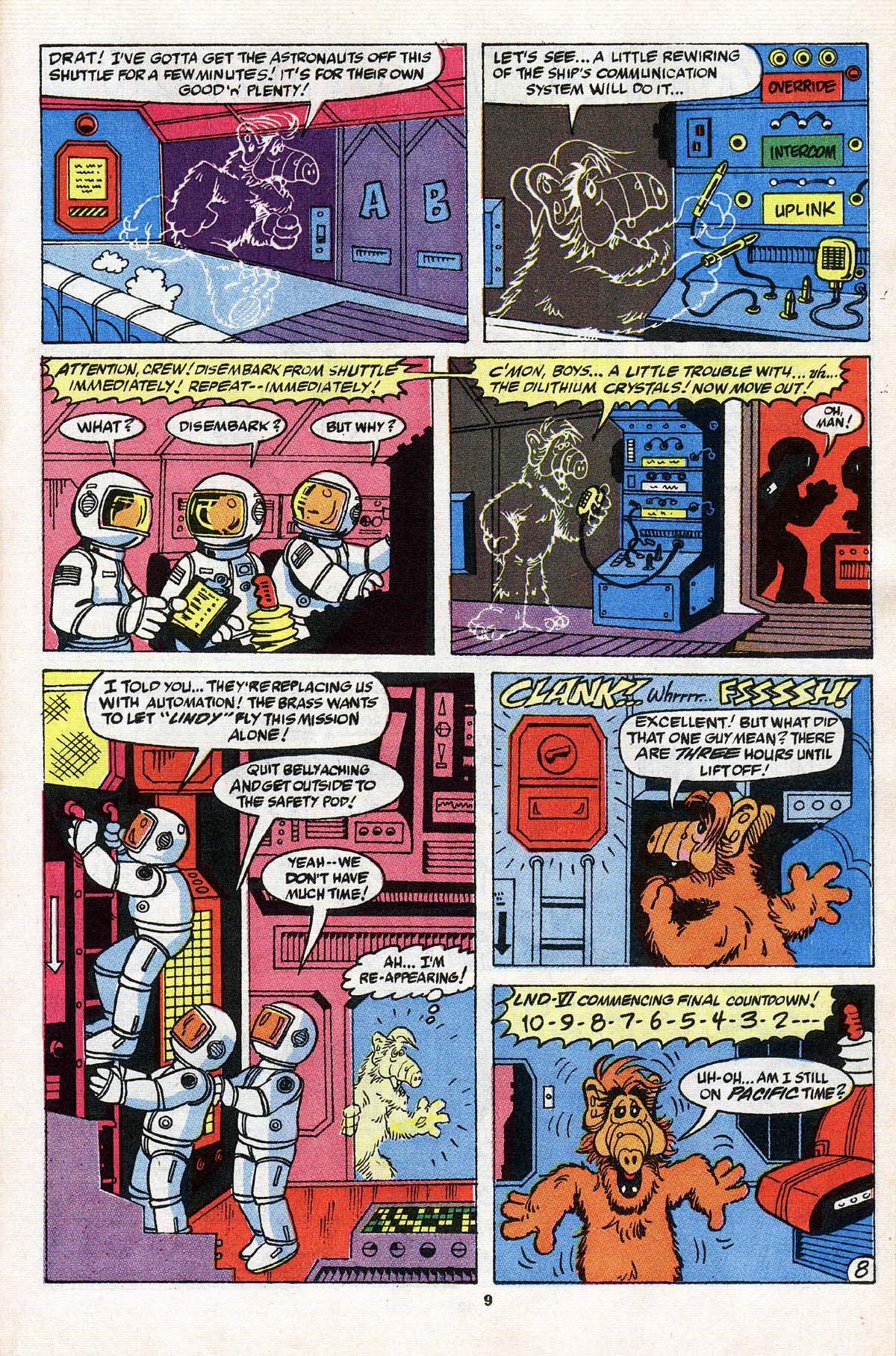 Read online ALF comic -  Issue # _Annual 3 - 9