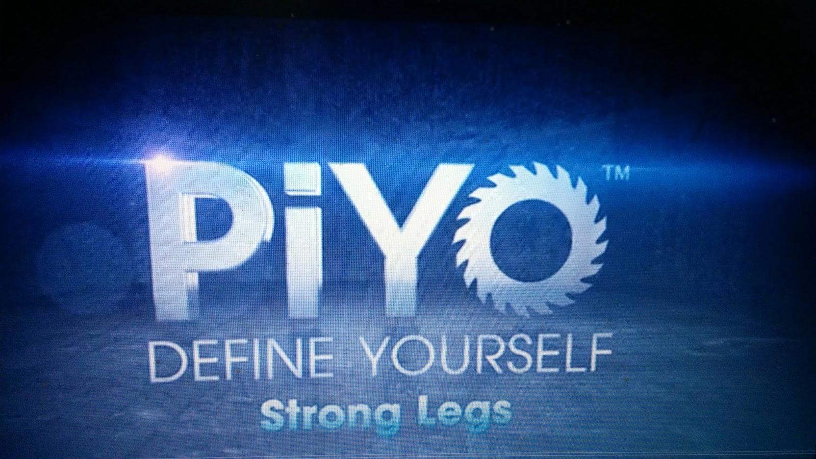 Hooking Rainbows: DAY 13 & 14-PIYO STRONG LEGS