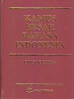 Judul :  KAMUS BESAR BAHASA INDONESIA (KBBI)