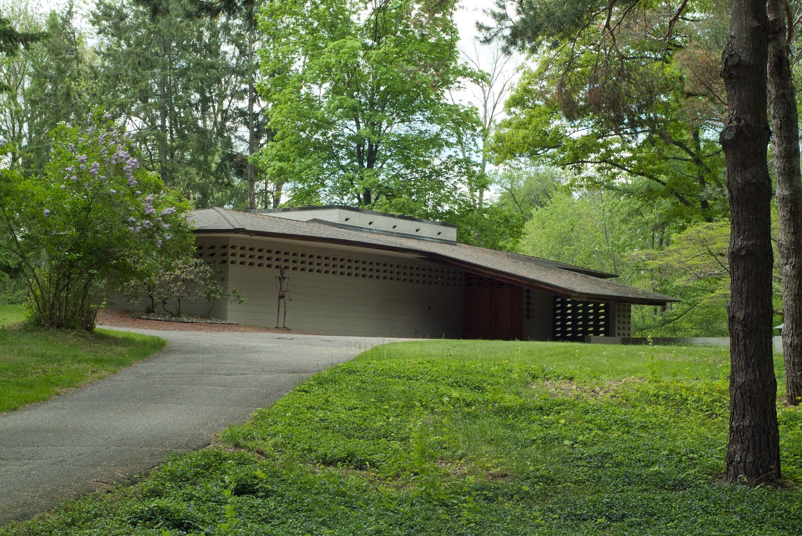 Frank lloyd wright home tours in michigan homemade ftempo for Frank lloyd wright house piani gratuiti