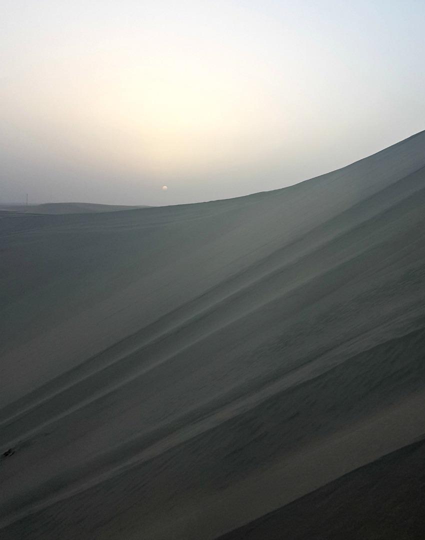 Qatar Desert Sand Dunes