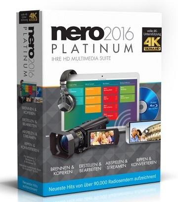 Nero 2016 Platinum 17.0.06100 poster box cover
