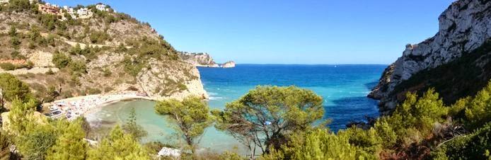 Playa de La Granadella.