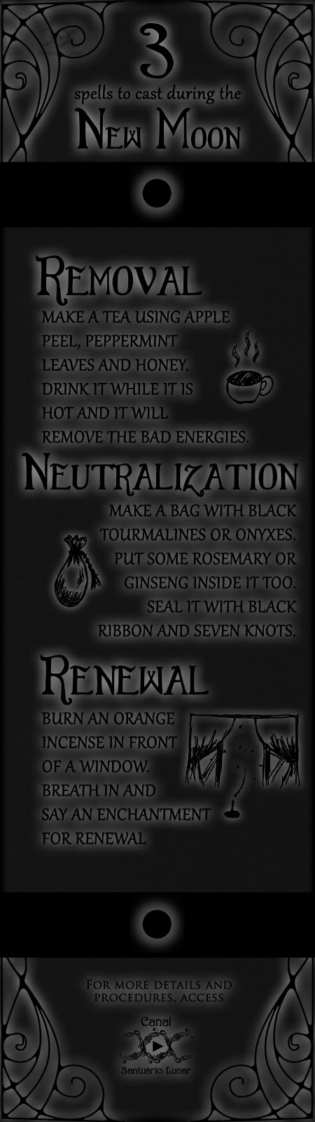 3 spells to cast during the New Moon   Wicca, Witchcraft, Magic, Witch, Pagan