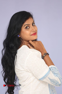 Actress Rithika Pictures at Ameerpetalo Audio Success Meet  0023