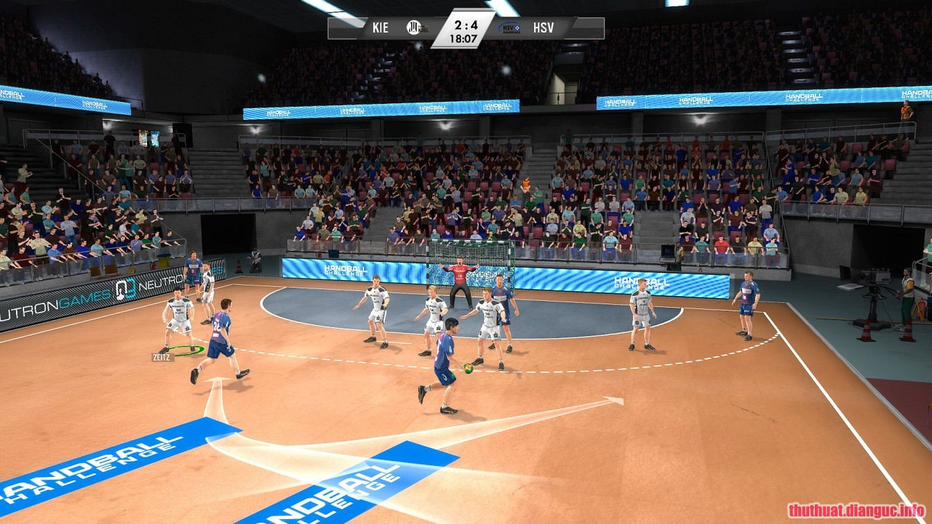 Game IHF Handball Challenge 12 Full free download