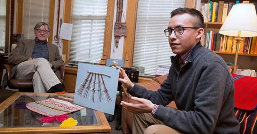Estudiante de Harvard halla la clave para descifrar la escritura de los quipus
