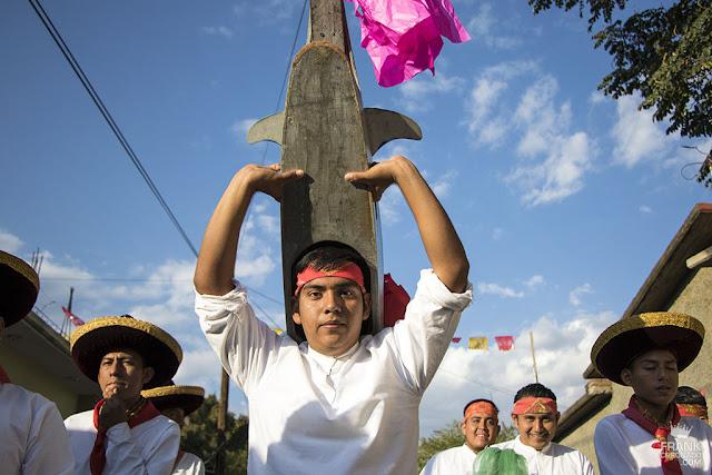 Son Benda bidxiaa Danza del pescado Oaxaca