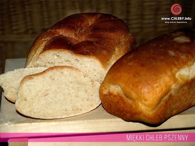 Miękki chleb pszenny