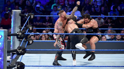 Heath Slater & Rhyno vs. The Usos