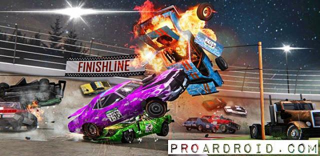تحميل لعبة تحطيم السيارات الرهيبة الجزء الثالت Demolition Derby 3 النسخة المهكرة