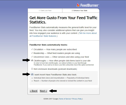 feedburner feed traffic