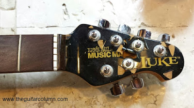 Music Man Luke headstock