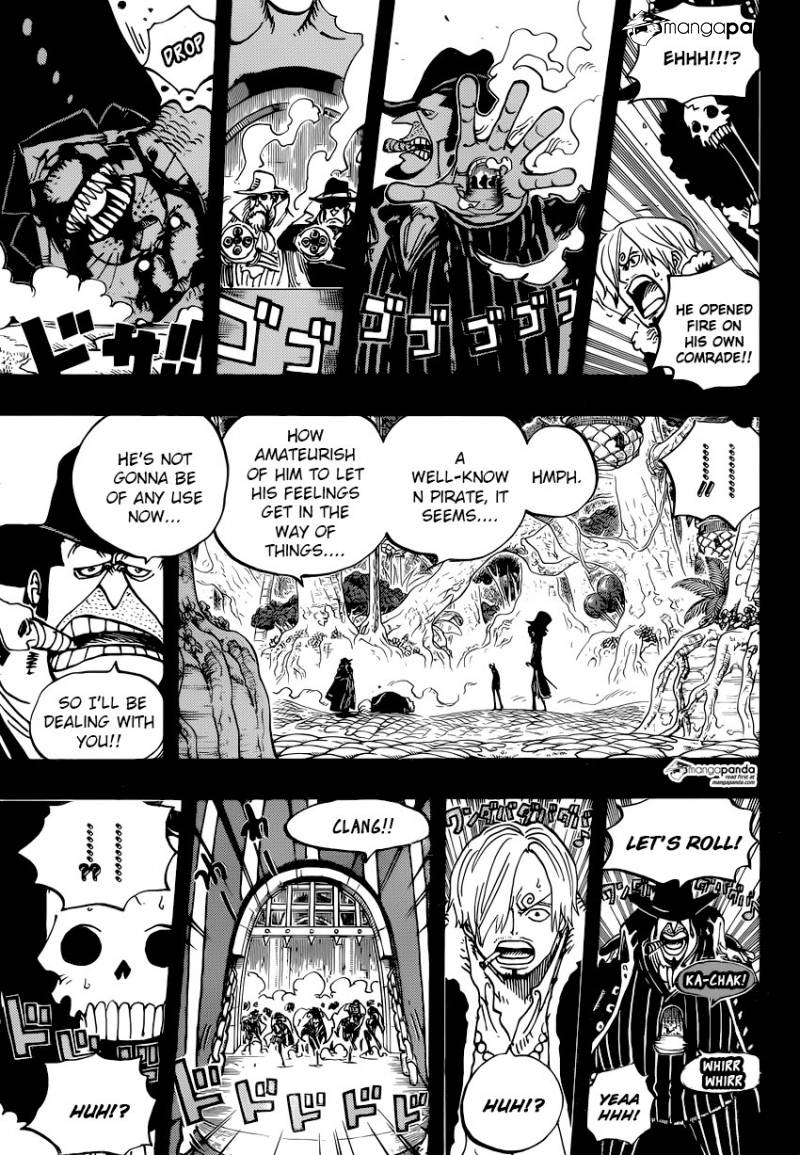 One Piece - Chapter 814